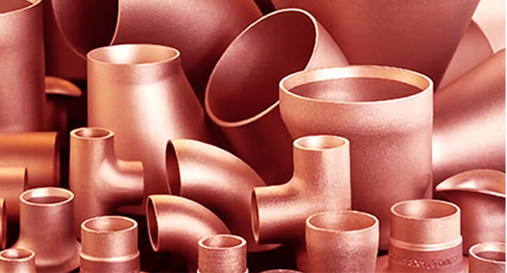 Copper Seamless Pipe Fittings