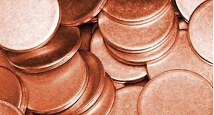 Copper Nickel 16.5 Circle