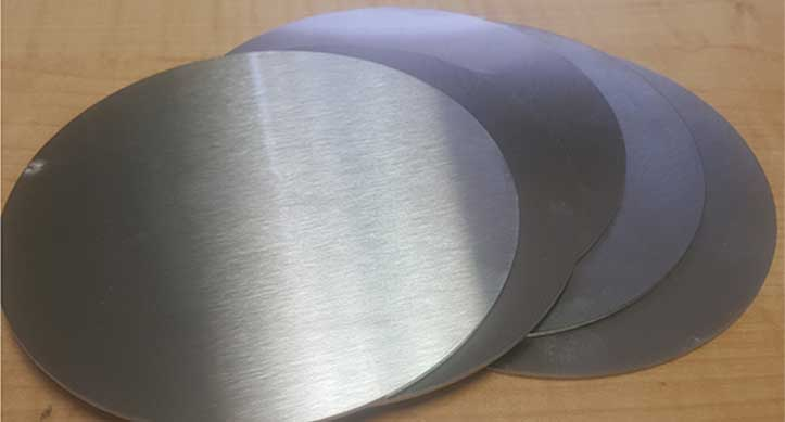 Stainless Steel 316H Circle